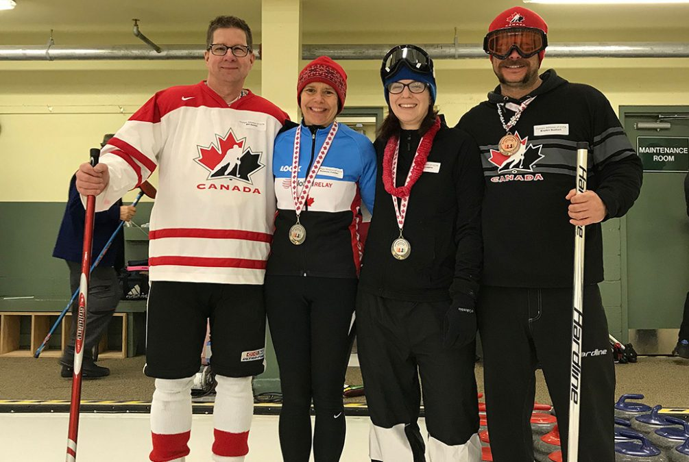 Breaking Down Barriers – Rockin' the House Curling Bonspiel