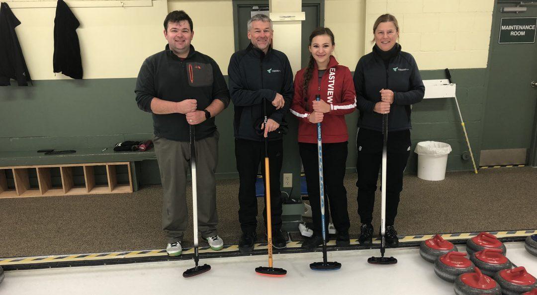 Hospice Georgian Triangle Curling Bonspiel