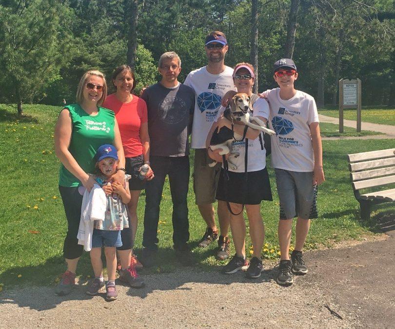 Alzheimer Society – Walk for Alzheimer's
