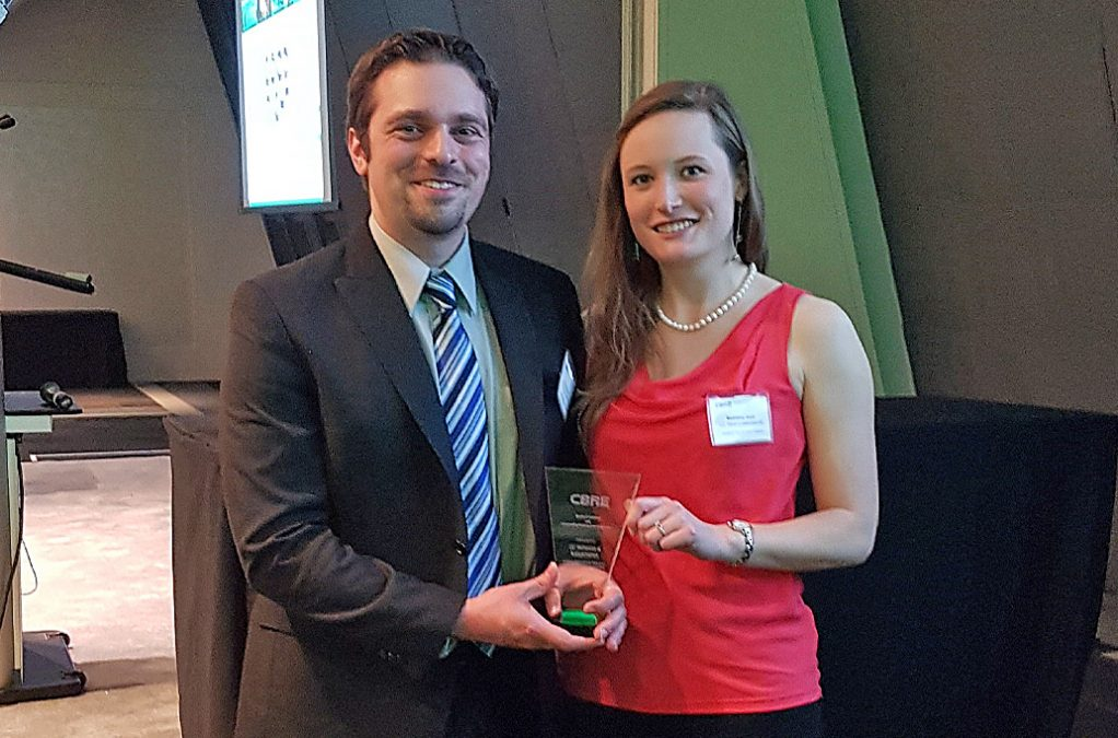 CCTA won the Service Excellence and Outstanding Contribution Award from CBRE!