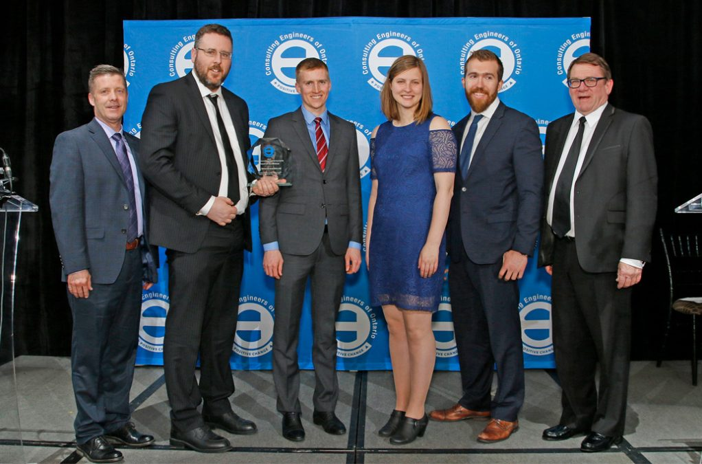 CCTA receives Award of Excellence from the Ontario Association of Consulting Engineers