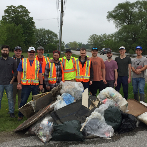 Adopt A Highway Community Clean Up