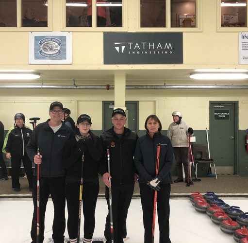 Hospice Georgian Triangle Curling Bonspiel Presented by Tatham Engineering