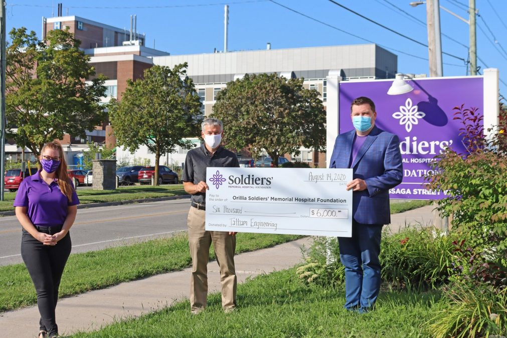 Orillia Soldiers Memorial Hospital Donation